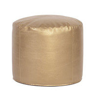 Howard Elliott Pouf Tall Ottoman, Shimmer Gold  - Howard Elliott 872-880