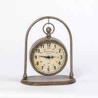 ARCHED PENDANT CLOCK