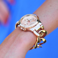 The Bracelet Watch: Rose Gold | Hope's