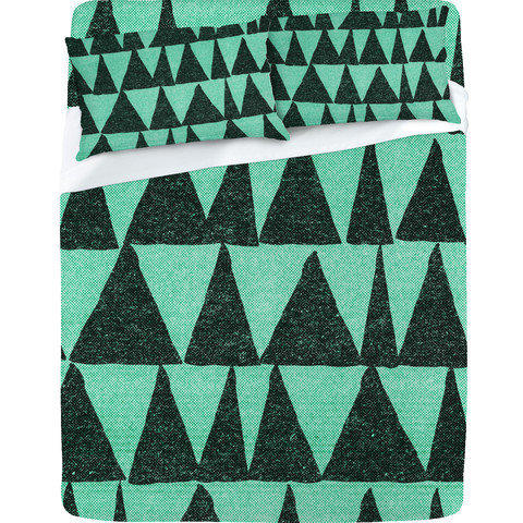 DENY Designs Home Accessories | Nick Nelson Analogous Shapes Sheet Set