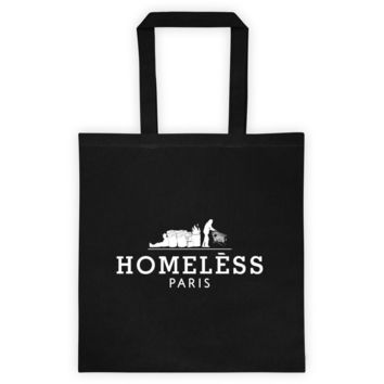 Homeless Tote bag