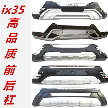 Car styling ABS Front + Rear surrounded bumper cover trim for 2010-16 Hyundai ix35