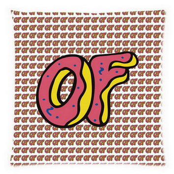 Odd Future (18x18) 45x45cm 2 Sided Sofa Bed Decorative All Over Print Cushion Cover OF Donut Throw Pillow Case