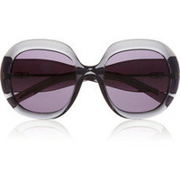 Balenciaga Round-frame acetate sunglasses – 65% at THE OUTNET.COM