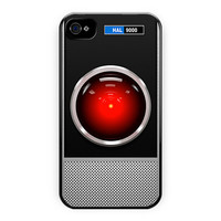 Hal 9000 Hello Dave Design iPhone 4/4S Case