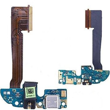 Games&Tech HTC One M8 831c Charger Charging Micro USB Port Flex Cable with Headphone Audio Jack