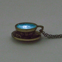 Storm in a Teacup Necklace