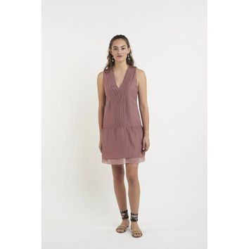 Bondi Dress in Dusky Pink