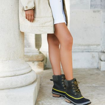 Free People Slimpack II Lace Up Weather Boot