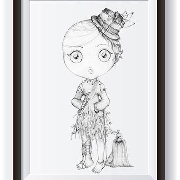 Spider Lady Art, Drawing Printable, Printable Art, Art, Lady, Doll, Detailed, Detail, Pencil, Cute, Spider, Dog, Animal, Knife, Wall Art