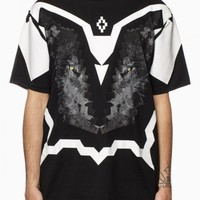 Wolf race t-shirt from the S/S2015 Marcelo Burlon County of Milan in black.