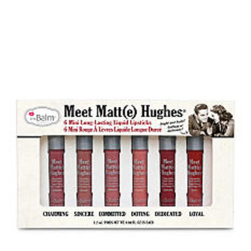 the Balm® cosmetics Meet Matt(e) Hughes Set