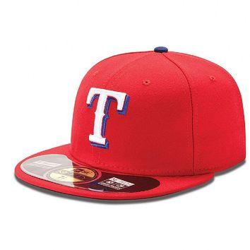 MLB Texas Rangers Authentic On Field Red Alternate 59FIFTY Cap