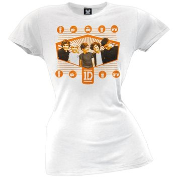 One Direction - Radiant Hexagon Juniors T-Shirt