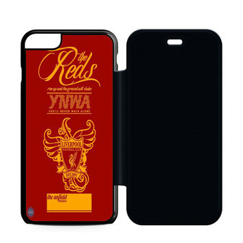 The Red Liverpool Flip Case iPhone 6 | iPhone 6S | iPhone 6S Plus  Case