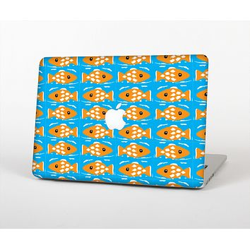 The Seamless Vector Gold Fish Skin for the Apple MacBook Air 13""