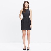 NIGHTFALL JACQUARD CUTOUT DRESS