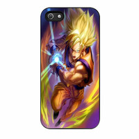 Dragon Ball Z Songoku Kamehame iPhone 5 Case