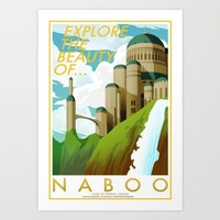Explore the Beauty of Naboo Art Print by ChrisAbles