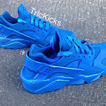 Nike Air Huarache Customs, Blue