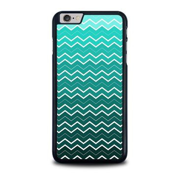 OMBRE TEAL CHEVRON Pattern iPhone 6 / 6S Plus Case Cover