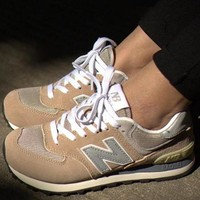 QIYIF new balance leisure shoes running shoes men s shoes for women s shoes couples n word  0