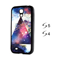 Galaxy Geometric Triangle Samsung Galaxy S5 and Galaxy S4 Case