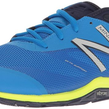new balance men s mx20v6 minimus cross trainer electric blue dark denim hi lite 10 2e us