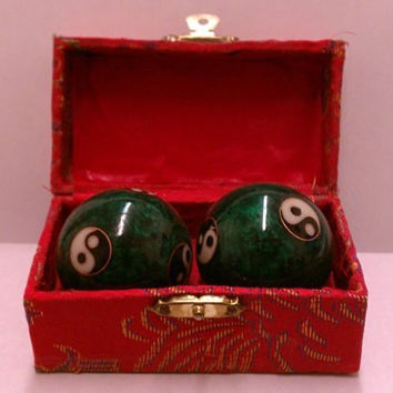 Chinese Health Exercise Stress Balls, Colors of box may very