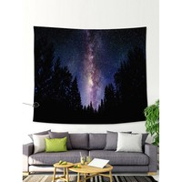 Star & Jungle Print Tapestry