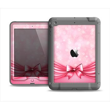 The Magical Pink Bow Apple iPad Mini LifeProof Nuud Case Skin Set