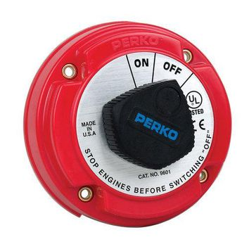 Perko Medium Duty Battery Disconnect Shut Off/On - 250 Amp Continuous 12-32VDC