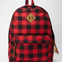 Classic Plaid Backpack
