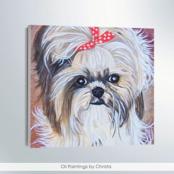 Custom Portrait Personalized pet art Memorial art  Nursery art Dog portrait Custom order Cats Pet art Dog Portrait Dog painting 6x6 kids