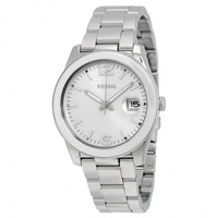 FOSSILPerfect Boyfriend Silver Dial Ladies Quartz WatchItem No. CE1087