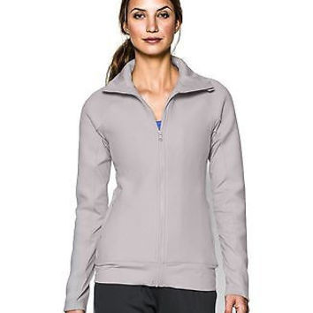 Under Armour Women's UA ColdGear Infrared Full Zip Jacket Medium MOON MIST