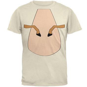 Halloween Horse Costume Palomino Tan Mens T Shirt