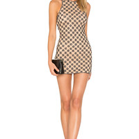 X by NBD Augusta Dress in Mauve | REVOLVE