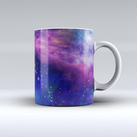 The Here's to Another Space Adventure ink-Fuzed Ceramic Coffee Mug