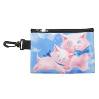 Pink Cats Accessory Bag