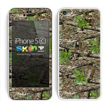 Real Camouflage and Green V3 Skin For The iPhone 5c