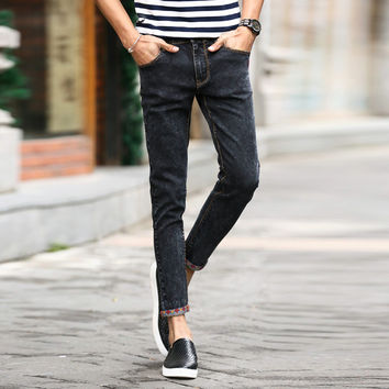 Summer Korean Slim Stretch Men Jeans [6528671363]