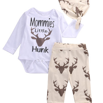 6fcb43e76 2016 kids boys clothes baby Deer clothing from Honeybee Line