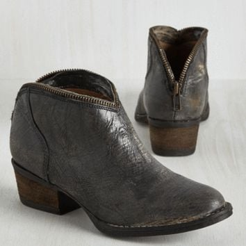 Kick, Posh, Coast Leather Bootie | Mod Retro Vintage Boots | ModCloth.com