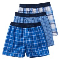 Hanes Ultimate 3-Pack Dyed Boxers - Boys, Size: