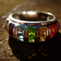 Haunted powerful and positive ring of the 7 ARCHANGELS rare supernatural item
