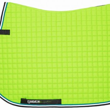 Eskadron Saddle Pad Cotton Neongreen | Ooteman Equestrian