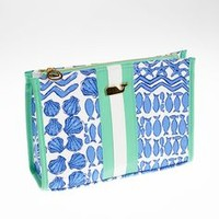 Sealife Patchwork Makeup Bag