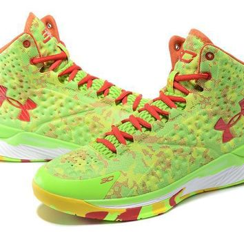 Under Armour Curry Candy Colors Basketball Shoes