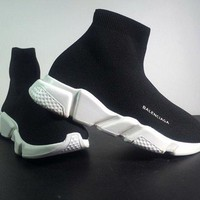 [FREE SHIPPING ] Balenciaga Sock Boots Woman Men Fashion Breathable Sneakers Running Shoes